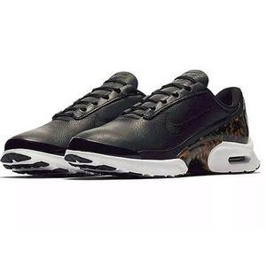 Nike Air Max Jewell Black Leather & Tortoise Shell